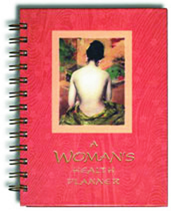 A Woman's Health Planner book cover