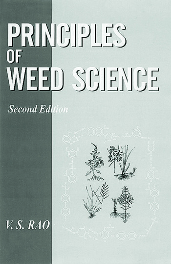 Principles of Weed Science book cover