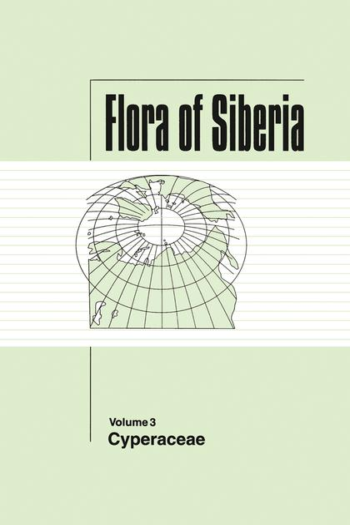 Flora of Siberia, Vol. 3 Cyperaceae book cover