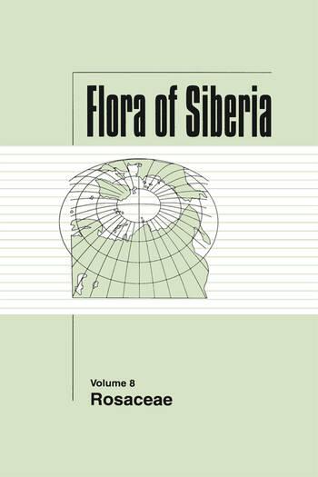 Flora of Siberia, Vol. 8 Rosaceae book cover