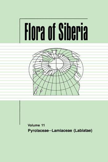 Flora of Siberia, Vol. 11 Pyrolaceae-Lamiaceae book cover