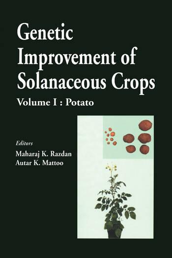 Genetic Improvement of Solanaceous Crops, Volume 1 Potato book cover