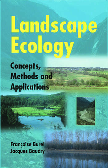 Landscape Ecology Concepts, Methods, and Applications book cover