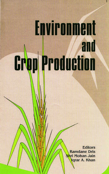 Environment and Crop Production book cover