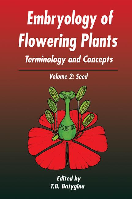 Embryology of Flowering Plants: Terminology and Concepts, Vol. 2 The Seed book cover