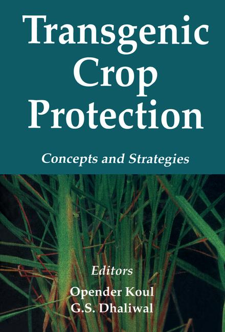 Transgenic Crop Protection Concepts and Strategies book cover