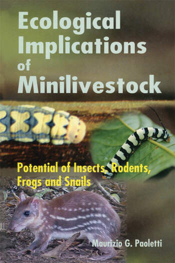Ecological Implications of Minilivestock Potential of Insects, Rodents, Frogs and Sails book cover