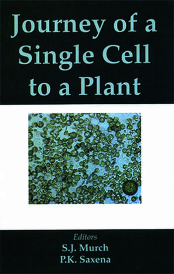 Journey of a Single Cell to a Plant book cover