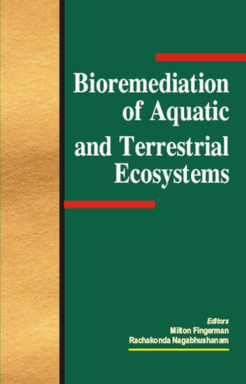 Bioremediation of Aquatic and Terrestrial Ecosystems book cover