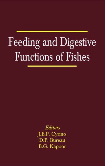 Feeding and Digestive Functions in Fishes book cover