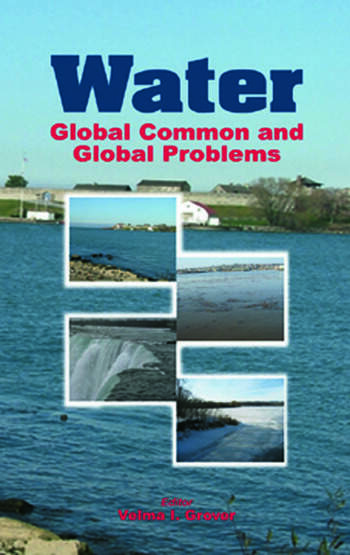 Water Global Common and Global Problems book cover