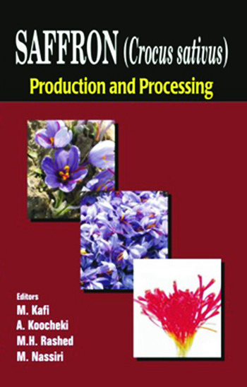 Saffron (Crocus sativus) Production and Processing book cover