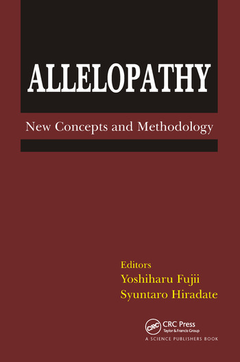 Allelopathy New Concepts & Methodology book cover