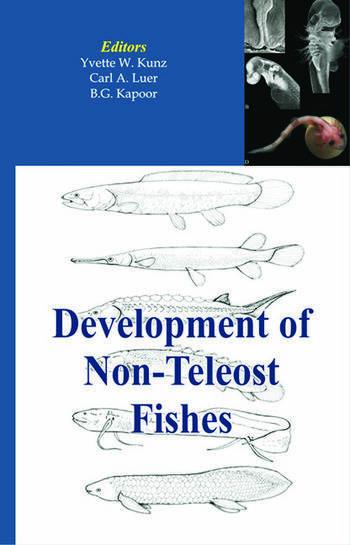 Development of Non-teleost Fishes book cover
