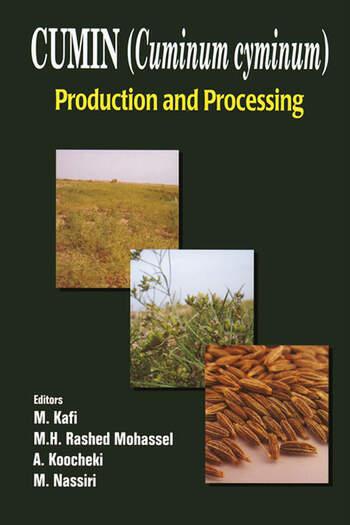 Cumin (Cuminum cyminum) Production and Processing book cover