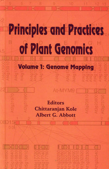 Principles and Practices of Plant Genomics, Vol. 1 Genome Mapping book cover