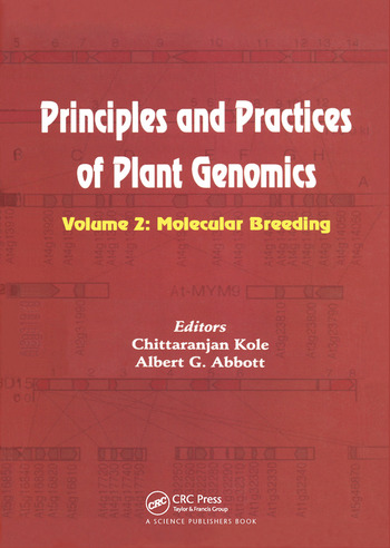 Principles and Practices of Plant Genomics, Vol. 2 Molecular Breeding book cover