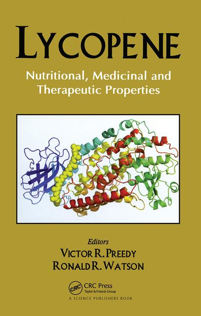 Lycopene Nutritional, Medicinal and Therapeutic Properties book cover