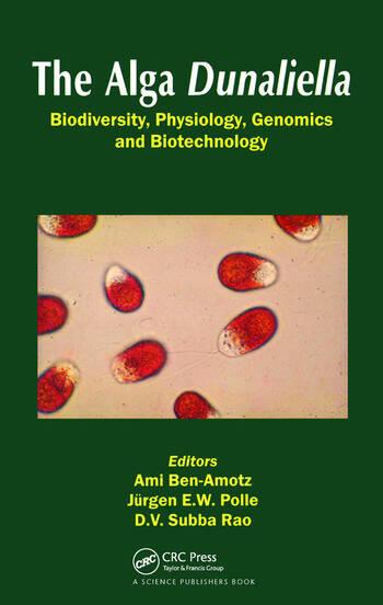 The Alga Dunaliella book cover