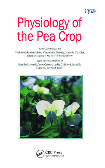 Physiology of the Pea Crop book cover