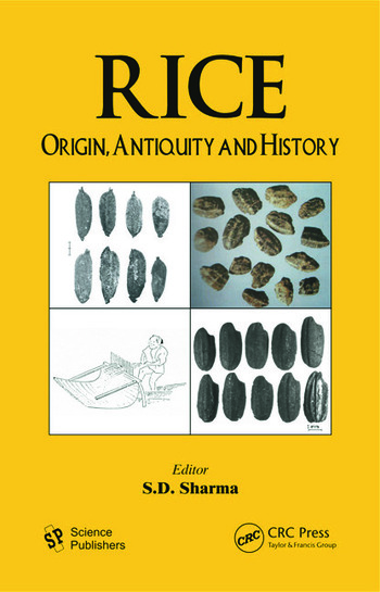 Rice Origin, Antiquity and History book cover