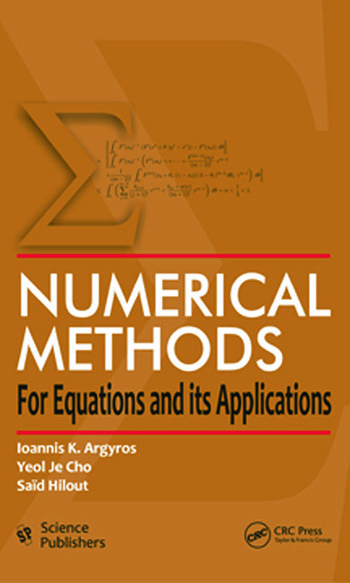 Numerical Methods for Equations and its Applications book cover