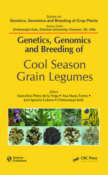 Genetics, Genomics and Breeding of Cool Season Grain Legumes book cover