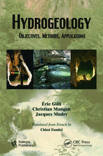 Hydrogeology Objectives, Methods, Applications book cover
