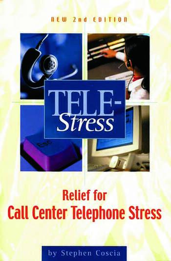 Tele-Stress Relief for Call Center Stress book cover