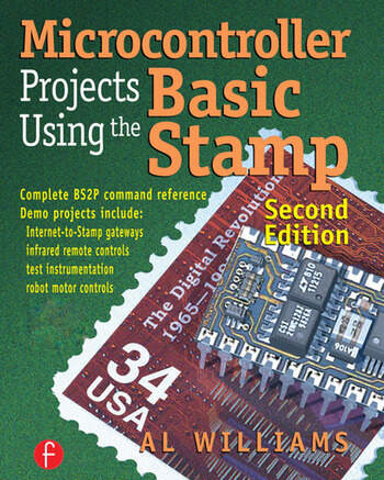 Microcontroller Projects Using the Basic Stamp book cover