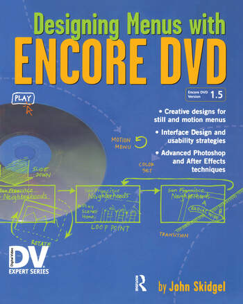 Designing Menus with Encore DVD book cover