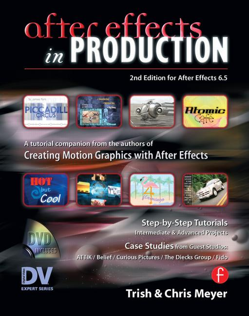 After Effects in Production A Companion for Creating Motion Graphics book cover