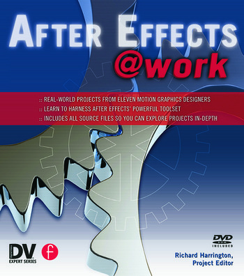 After Effects @ Work DV Expert Series book cover