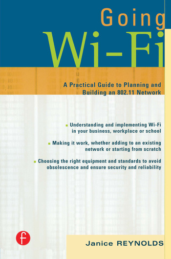 Going Wi-Fi Networks Untethered with 802.11 Wireless Technology book cover