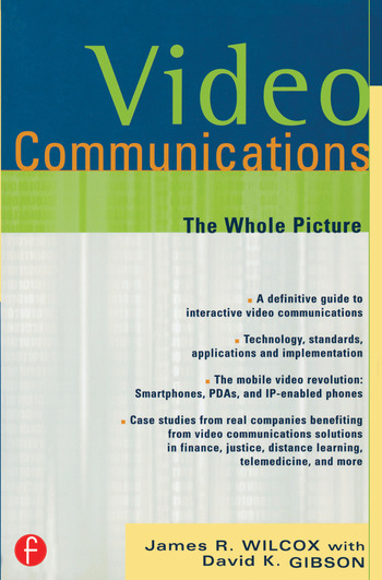 Video Communications The Whole Picture book cover