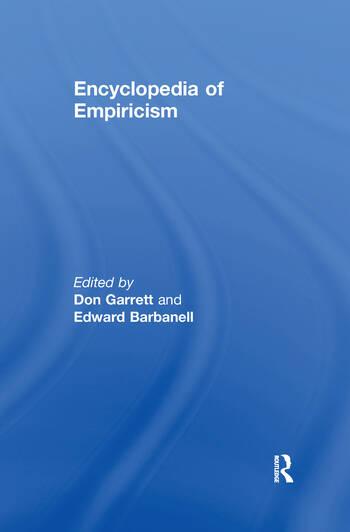Encyclopedia of Empiricism book cover