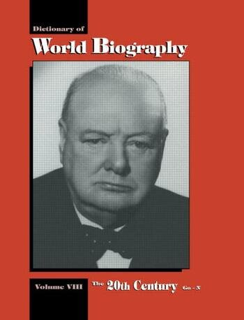 The 20th Century Go-N Dictionary of World Biography, Volume 8 book cover
