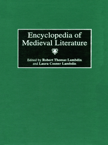 Encyclopedia of Medieval Literature book cover
