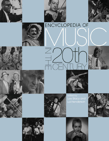 Encyclopedia of Music in the 20th Century book cover