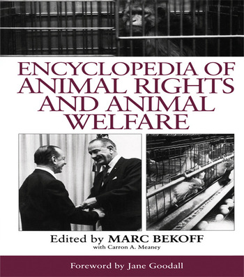 Encyclopedia of Animal Rights and Animal Welfare book cover