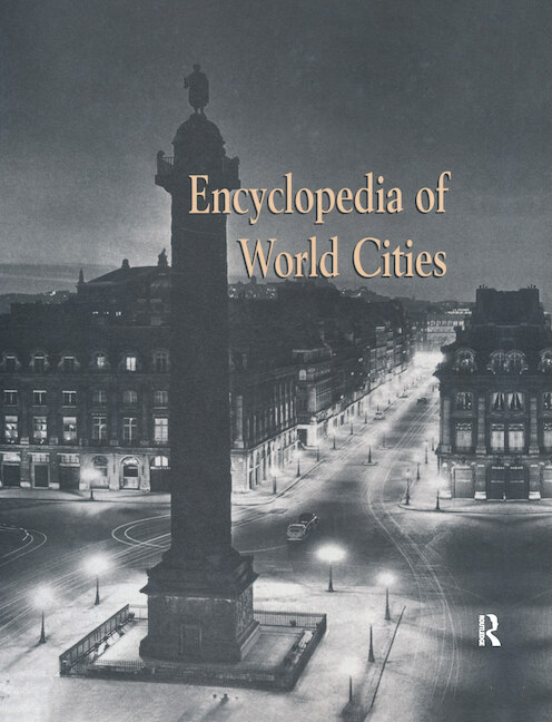 Encyclopedia of World Cities book cover