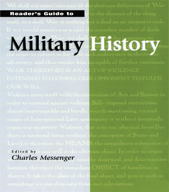 Reader's Guide to Military History book cover