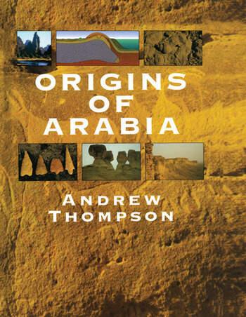 Origins of Arabia book cover