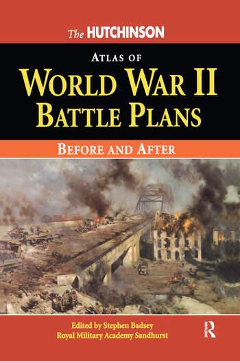 The Hutchinson Atlas of World War II Battle Plans book cover