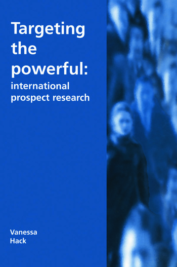 Targeting the Powerful International Prospect Research book cover