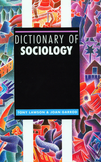 Dictionary of Sociology book cover