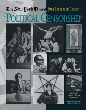 The New York Times Twentieth Century in Review Political Censorship book cover
