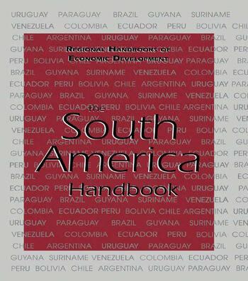 The South America Handbook book cover