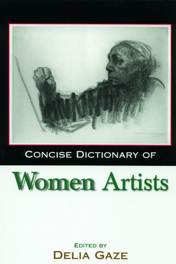 Concise Dictionary of Women Artists book cover