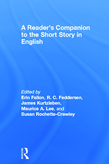 A Reader's Companion to the Short Story in English book cover